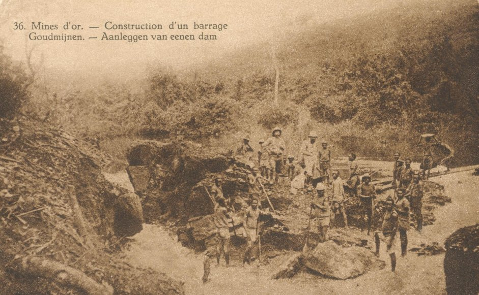 36 Mines d'or - Construction d'un barrage