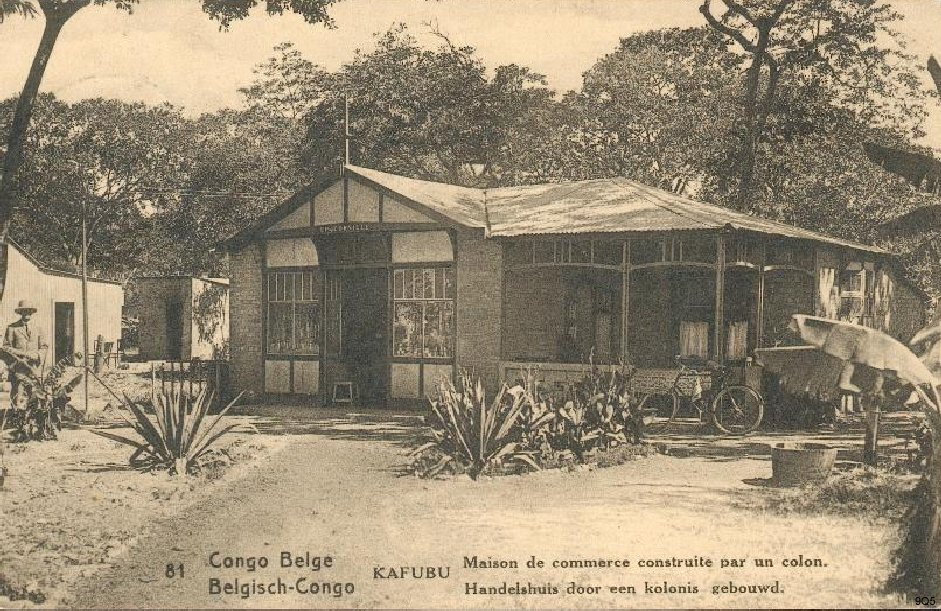 81 Kafubu - Maison de commerce construite par un colon